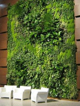 Vertical Grass Panels Hyderabad